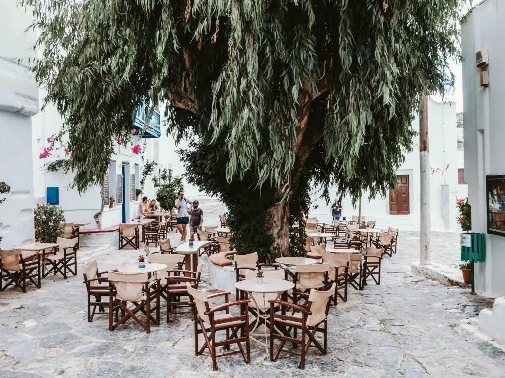 Amorgos chora beautiful town