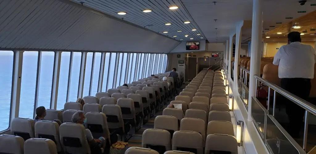 Greece Ferry Blue Star