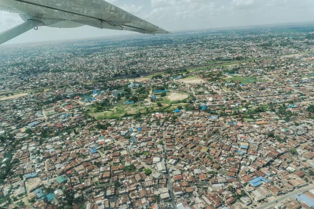 View of dar es salaam aerial