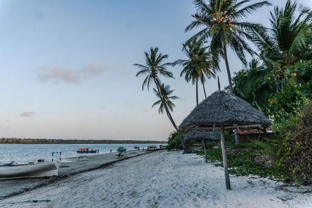 Low tide mafia island