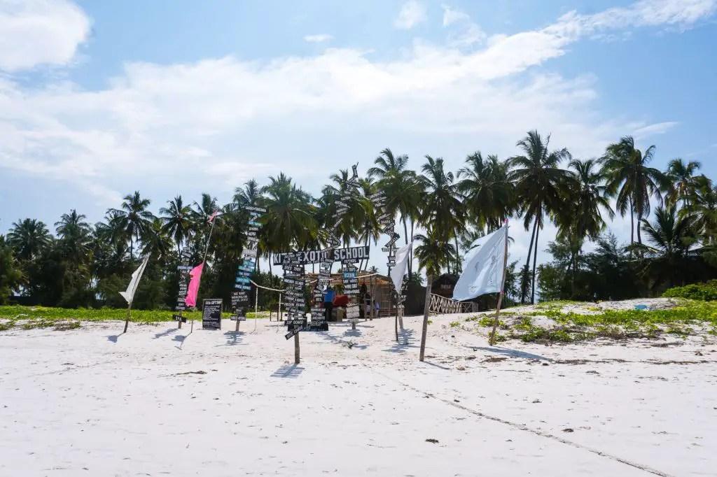 Kitesurfing Paje beach zanzibar