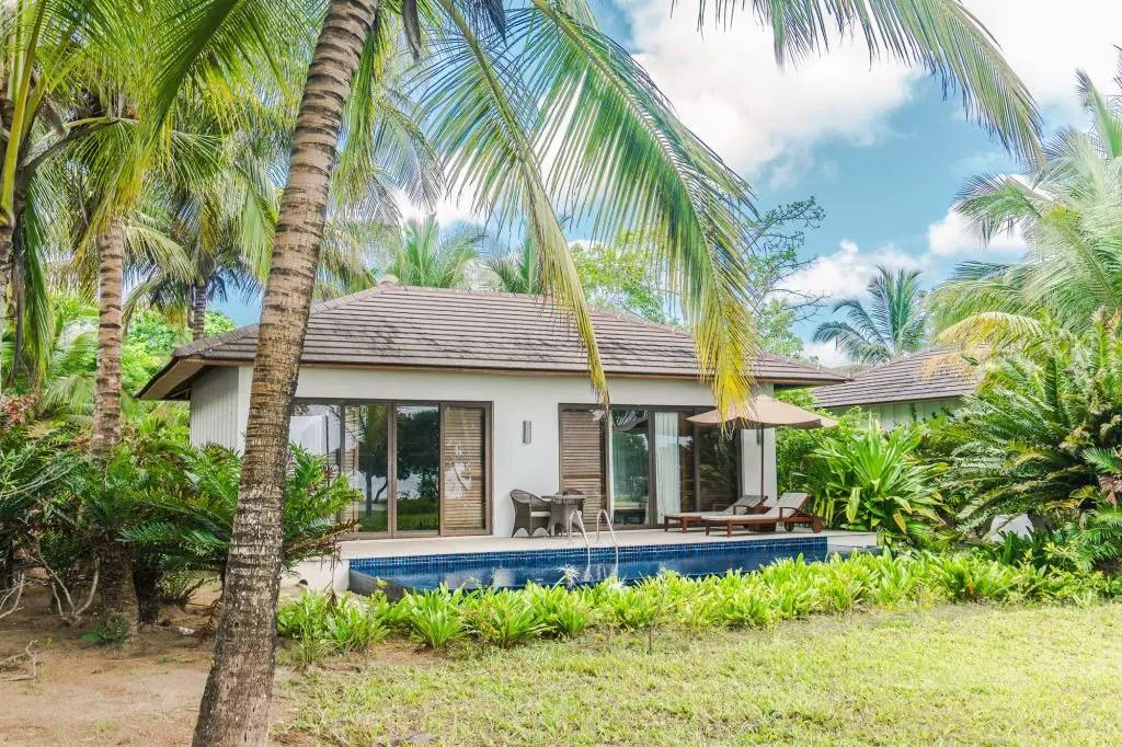 Residence Zanzibar pool room
