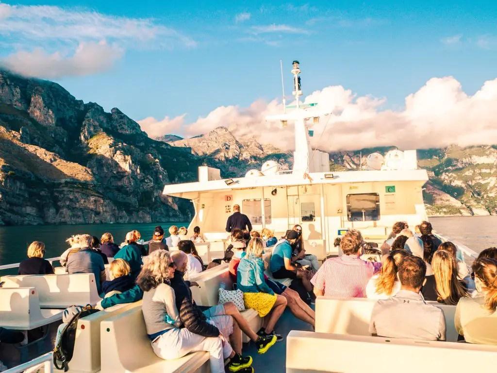 Ferry ride positano capri