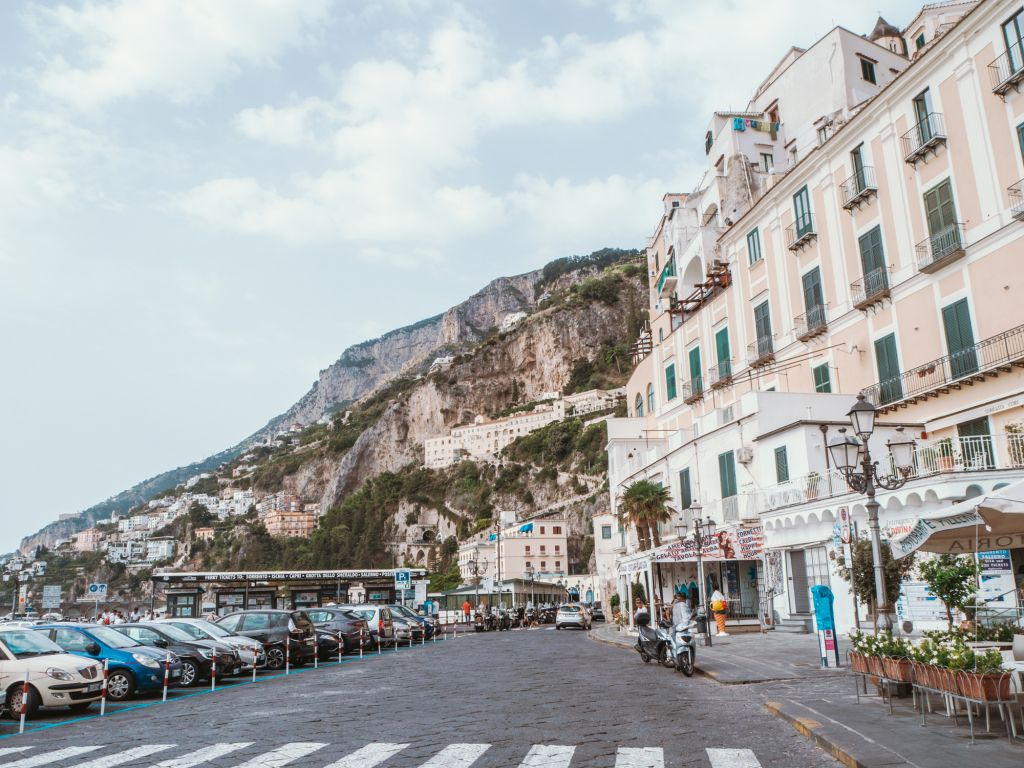 Amalfi coast streets