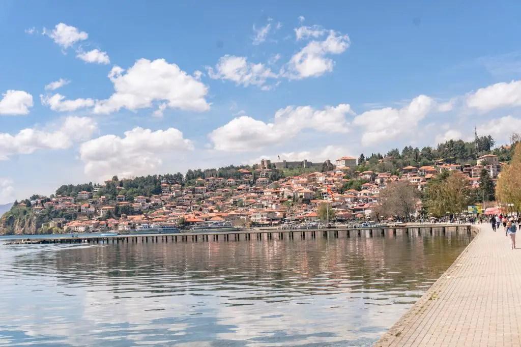 Lake Ohrid Macedonia