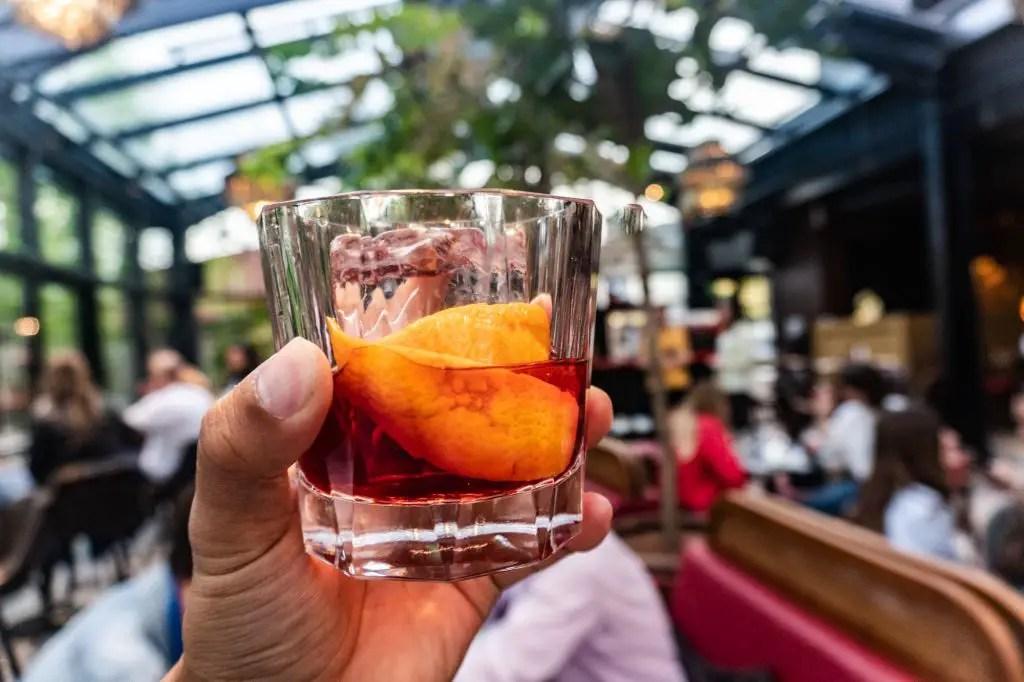 Cocktails at Boho