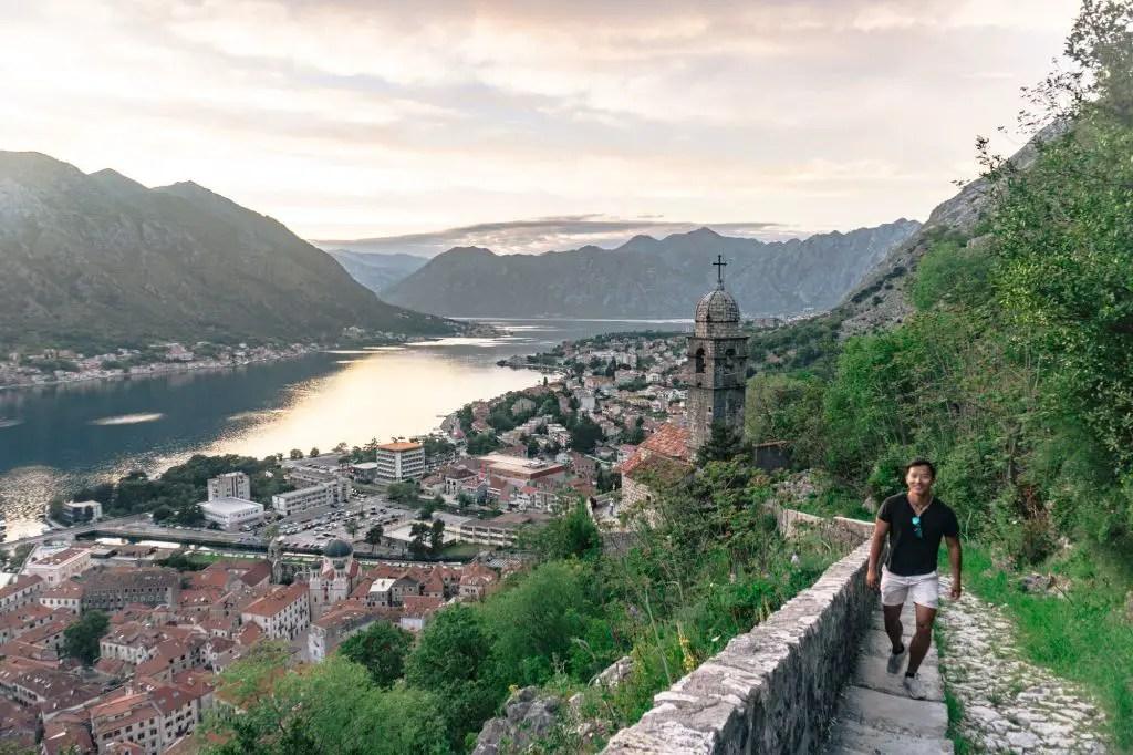 Kotor San Giovanni Fortress