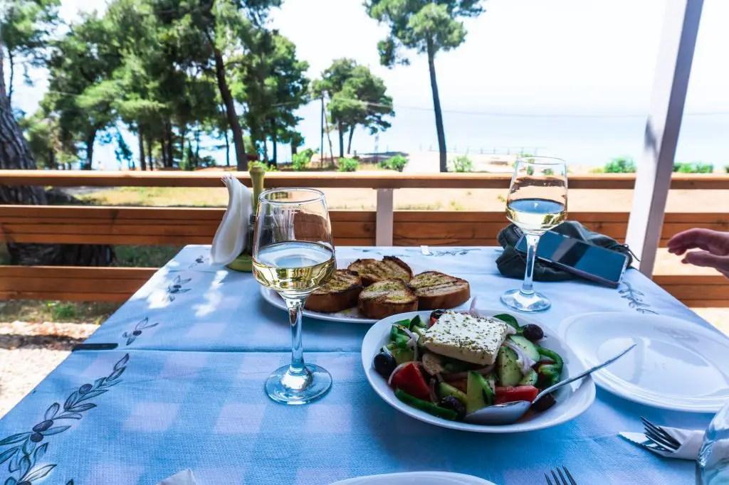 Greek salad lefkada