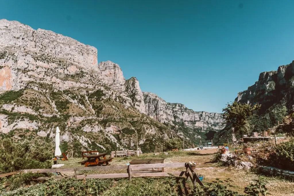 Vikos Gorge canyon zagori Greece