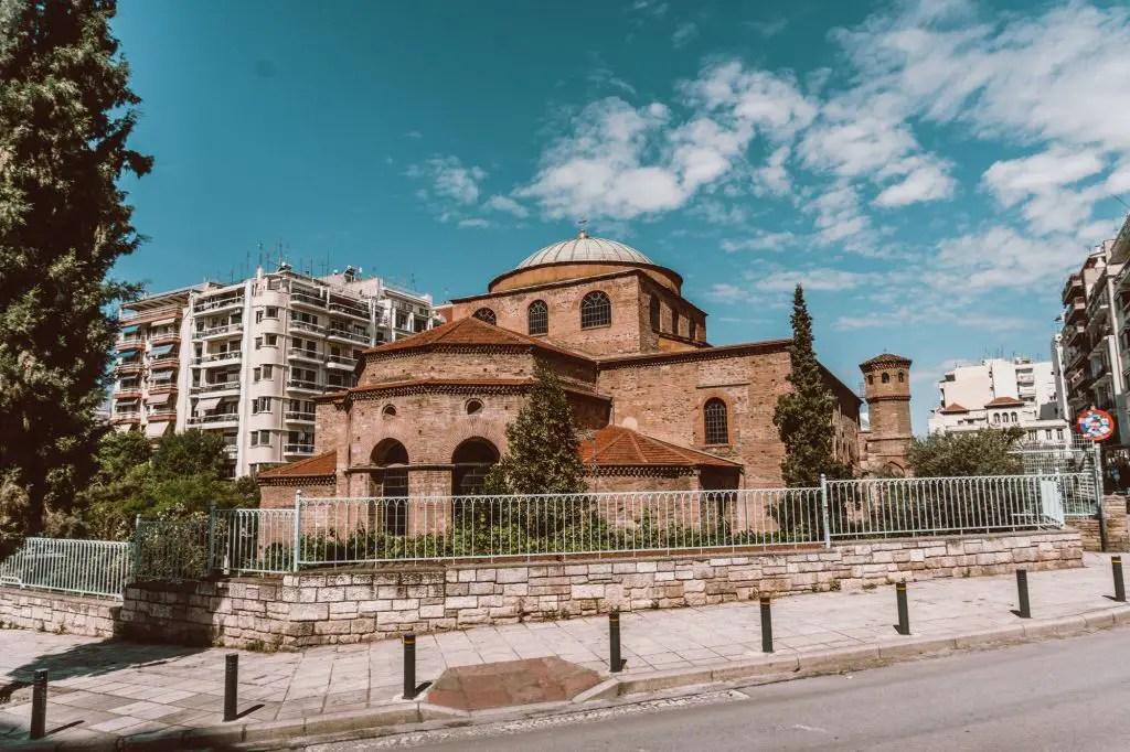 Thessaloniki town Greece