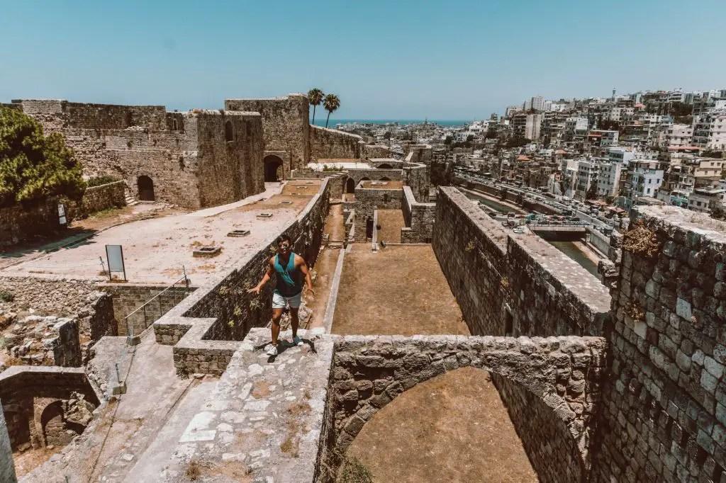 Tripoli Lebanon Castle views