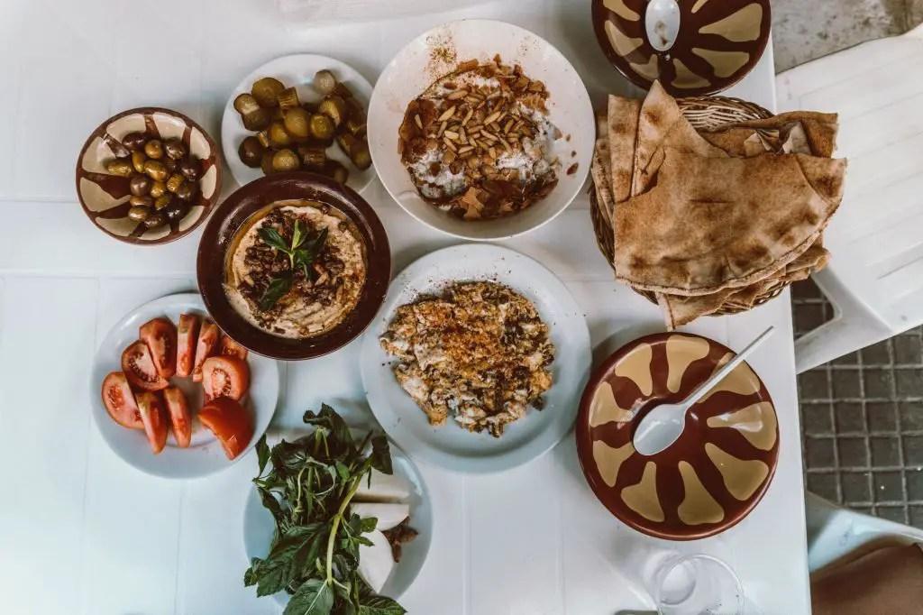 Beirut breakfast food cuisine
