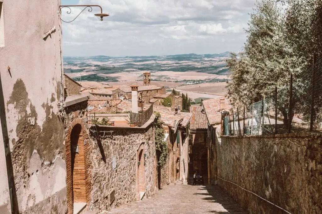Montalcino Town
