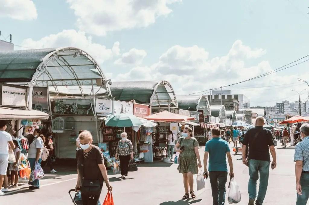 Central market chisinau Moldova