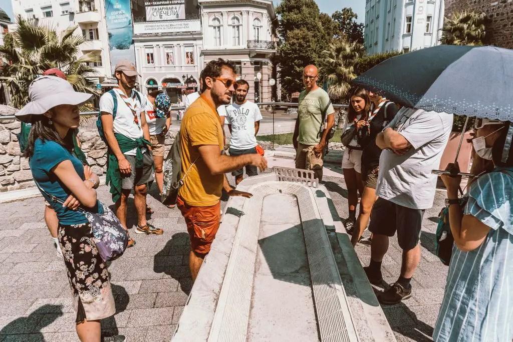 Plovdiv Bulgaria Kapana district walking tour