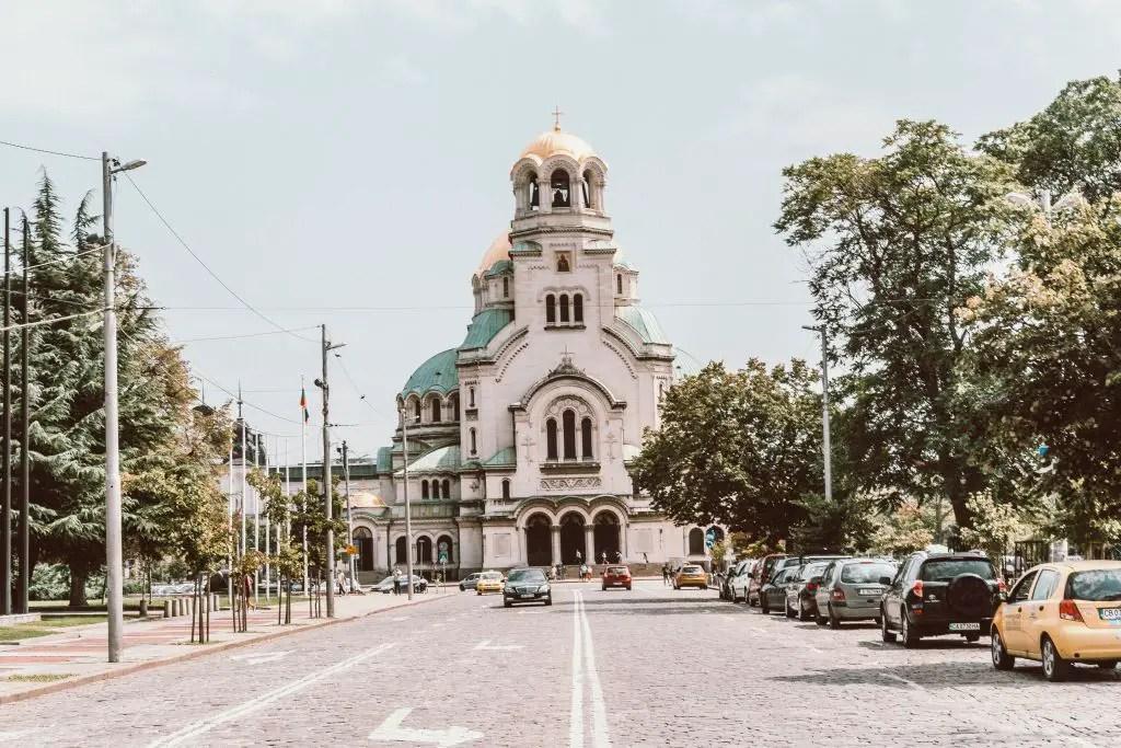 Alexander Nevsky Church Sofia Bulgaria
