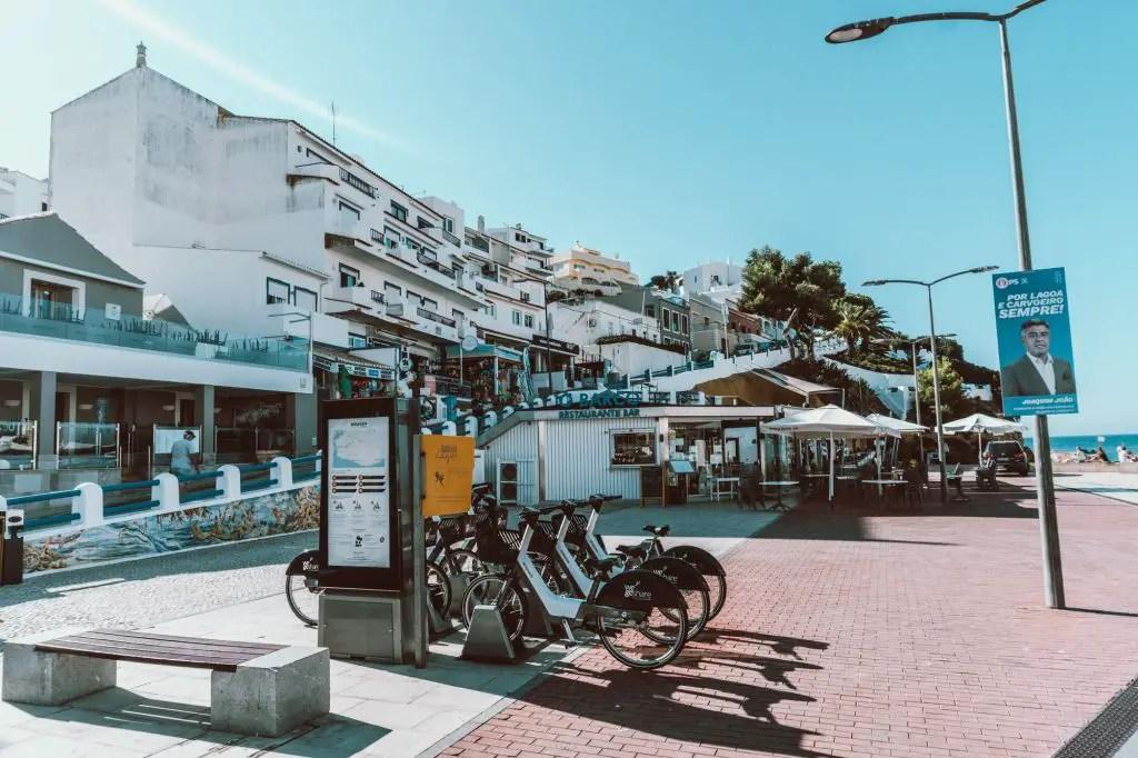 Carvoeiro Town Portugal Algarve