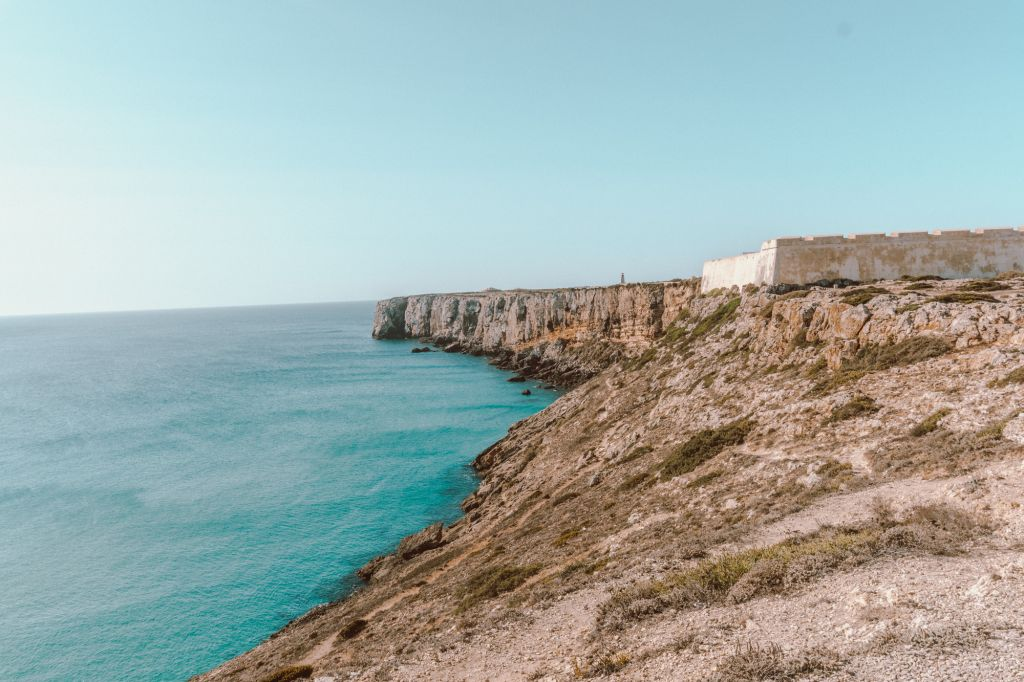 Beautiful views of the coastline from the fortress
