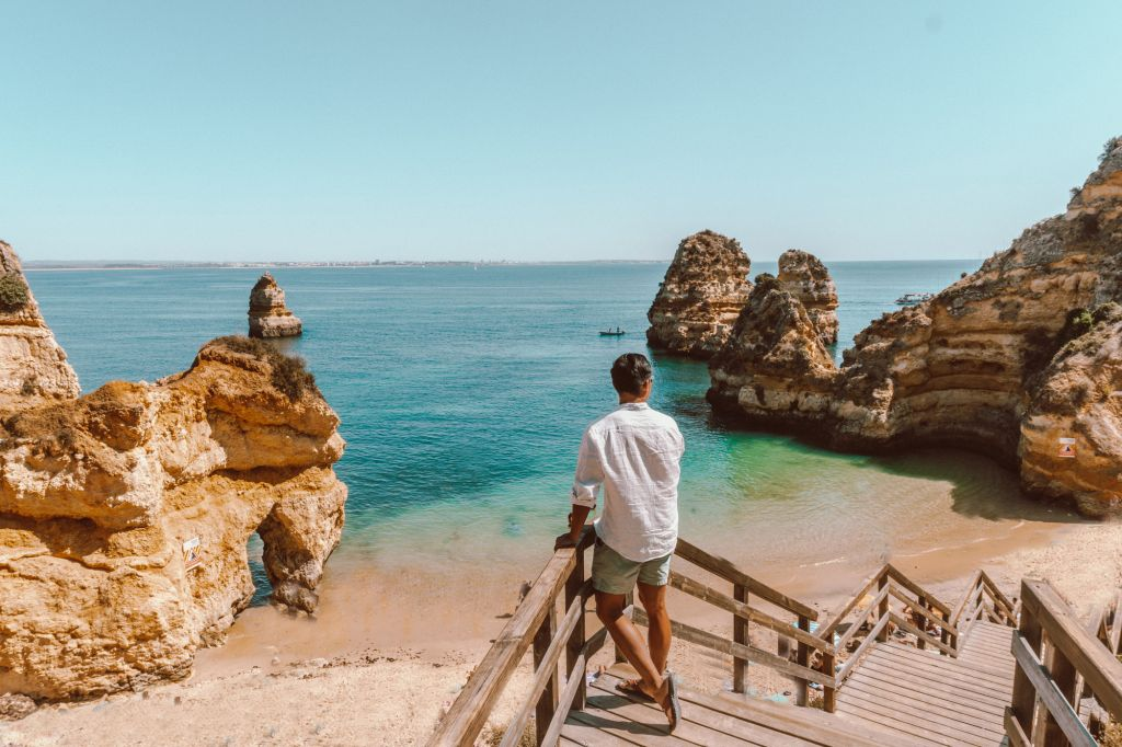 Praia do Camilo Lagos Algarve