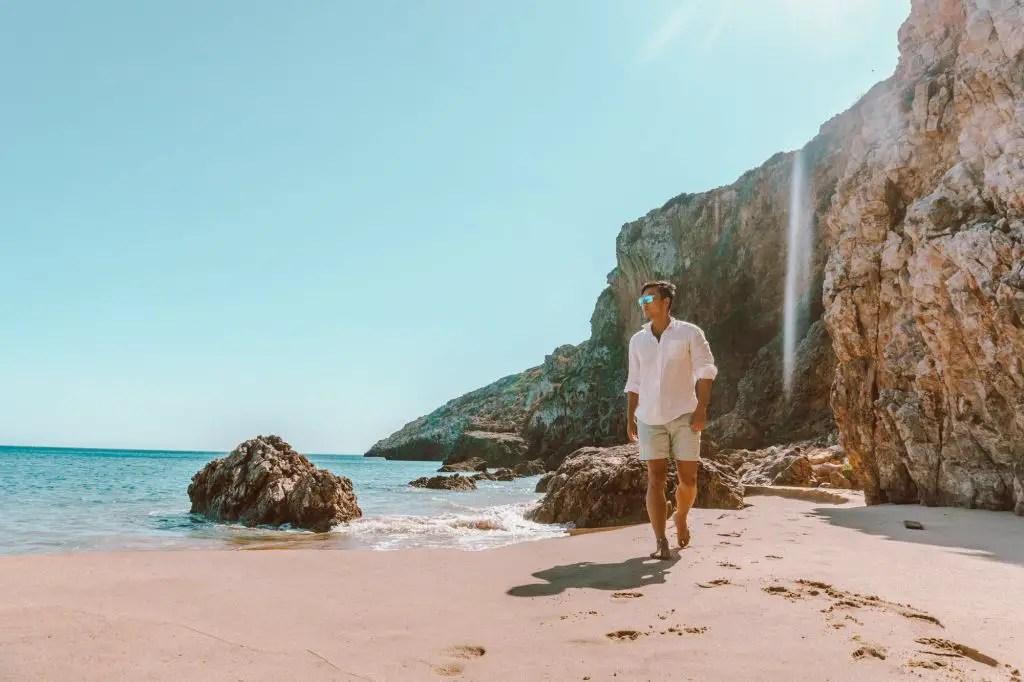 Praia Das Furnas, definitely the best beach in the Algarve