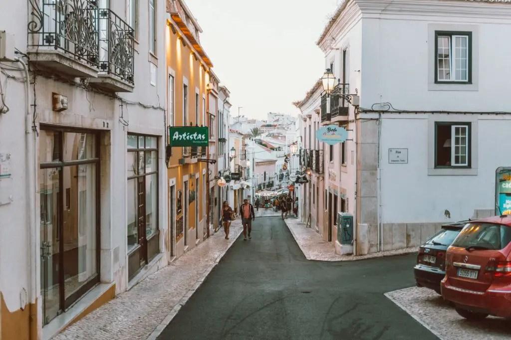 Lagos Town Algarve Portugal