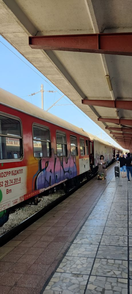Train station in Varna Bulgaria