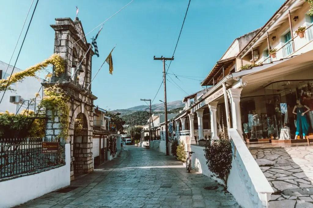 Corfu ionian islands greece kassiopi
