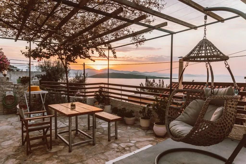 Corfu Greece island ionian