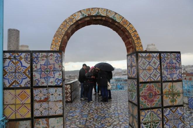 De kaklade taken i Tunis. Foto: Johnny Friskilä
