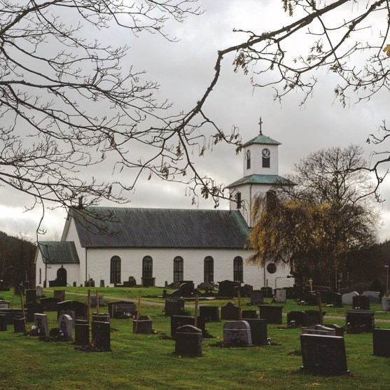 Ullareds kyrka. Foto: Johnny Friskilä