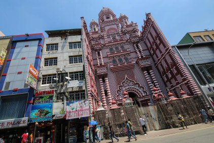 Old mosque in Colombo, Sri Lanka