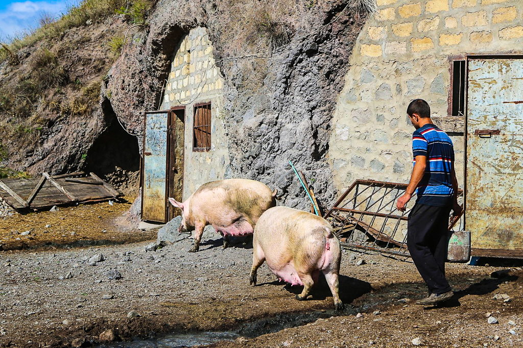 Armenia Cave Village Khnzoreshk-1