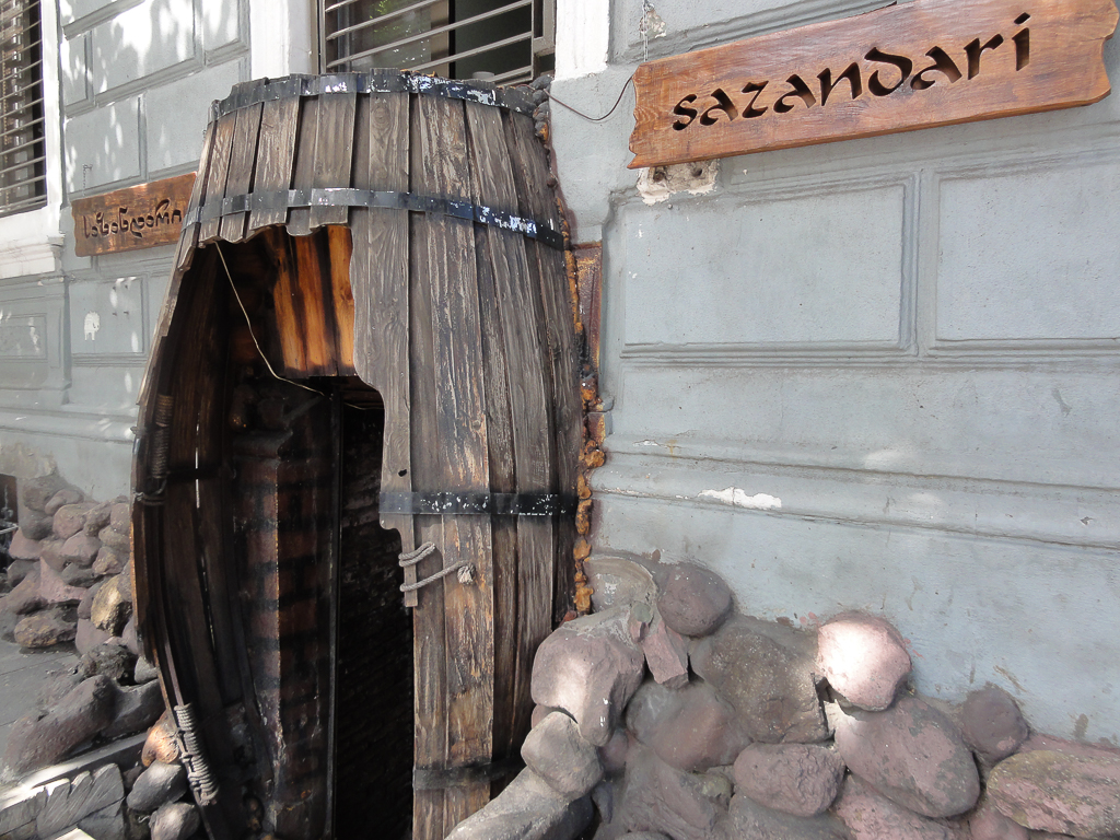 Sazandari restaurant Tbilisi-1