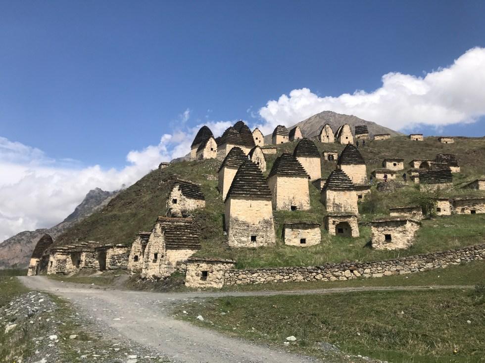 Plague huts Dargavs Ossetia