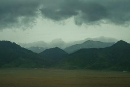 Dramatic landscape cloudy Kazakhstan-0655