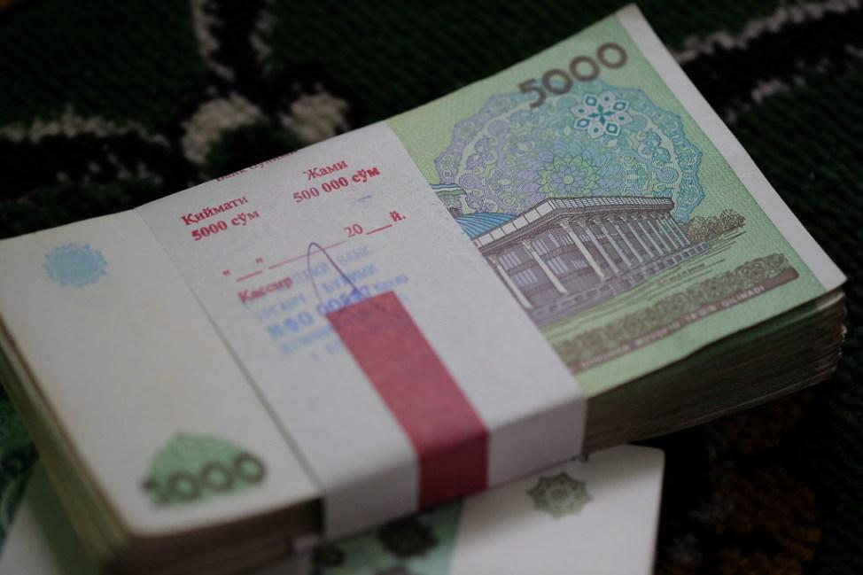 Uzbekistan Money Currency-0424
