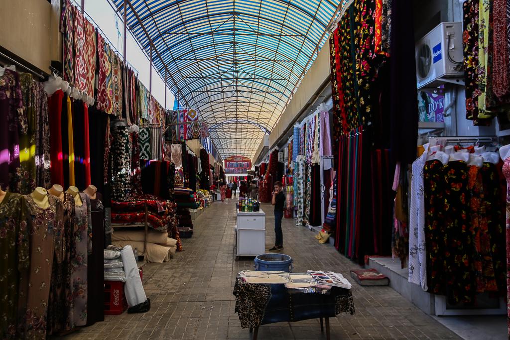 Samarkand Yangi Clothes Market-1288