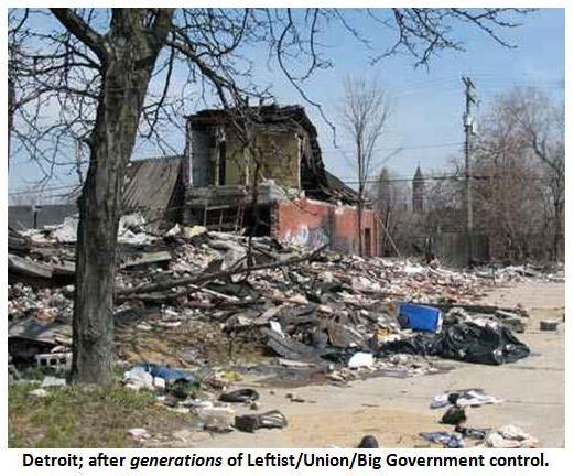 Detroit with caption