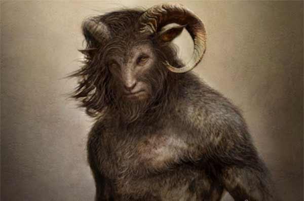 Pan - goat man hybrid