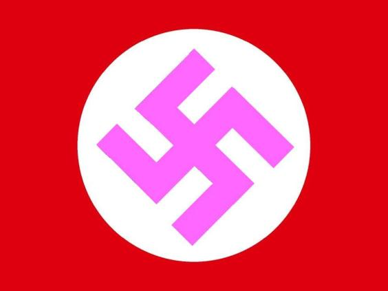 the pink swastika