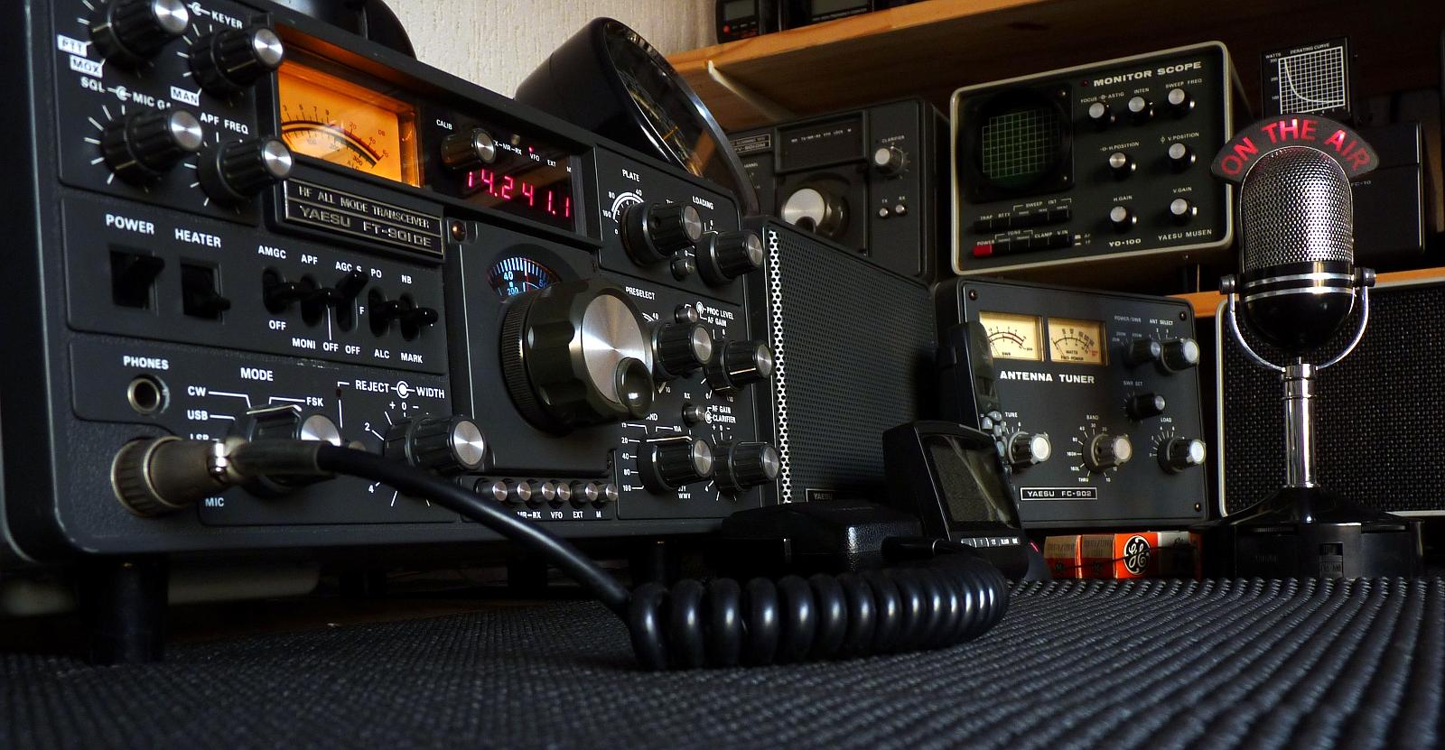 ham radio on the air