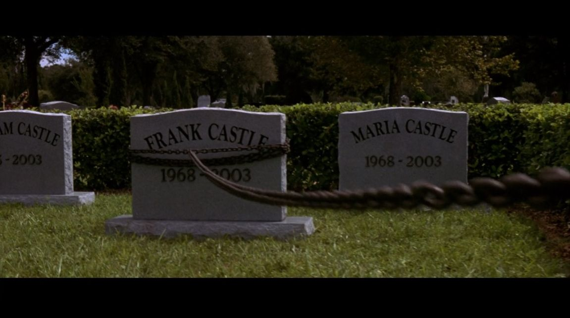 frank castle's tombstone
