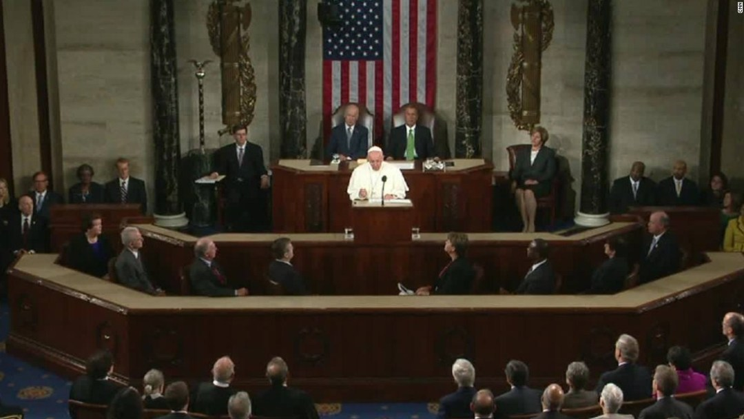 bergoglio speaks as the great fascist