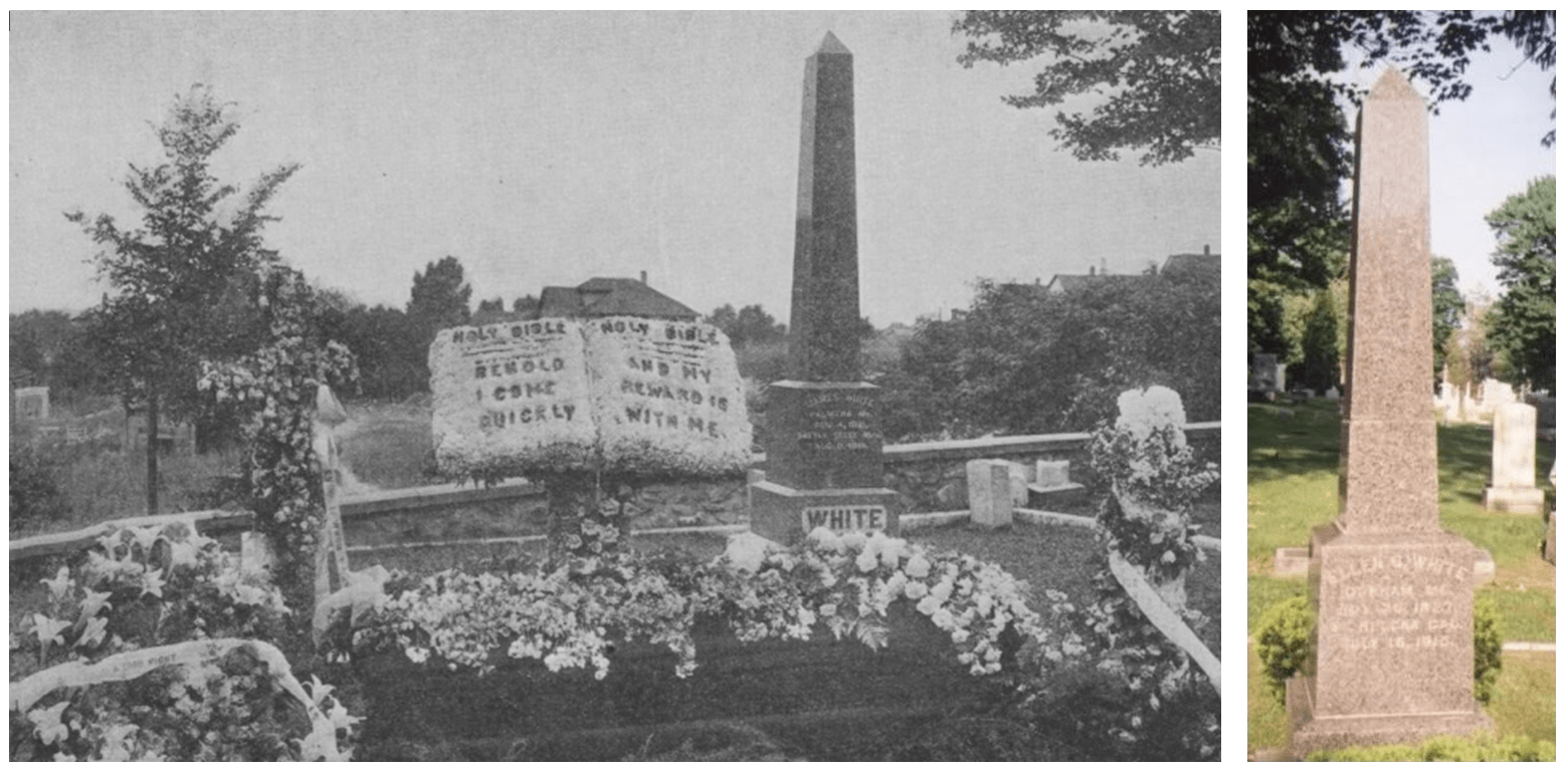 obelisks of james and ellen white