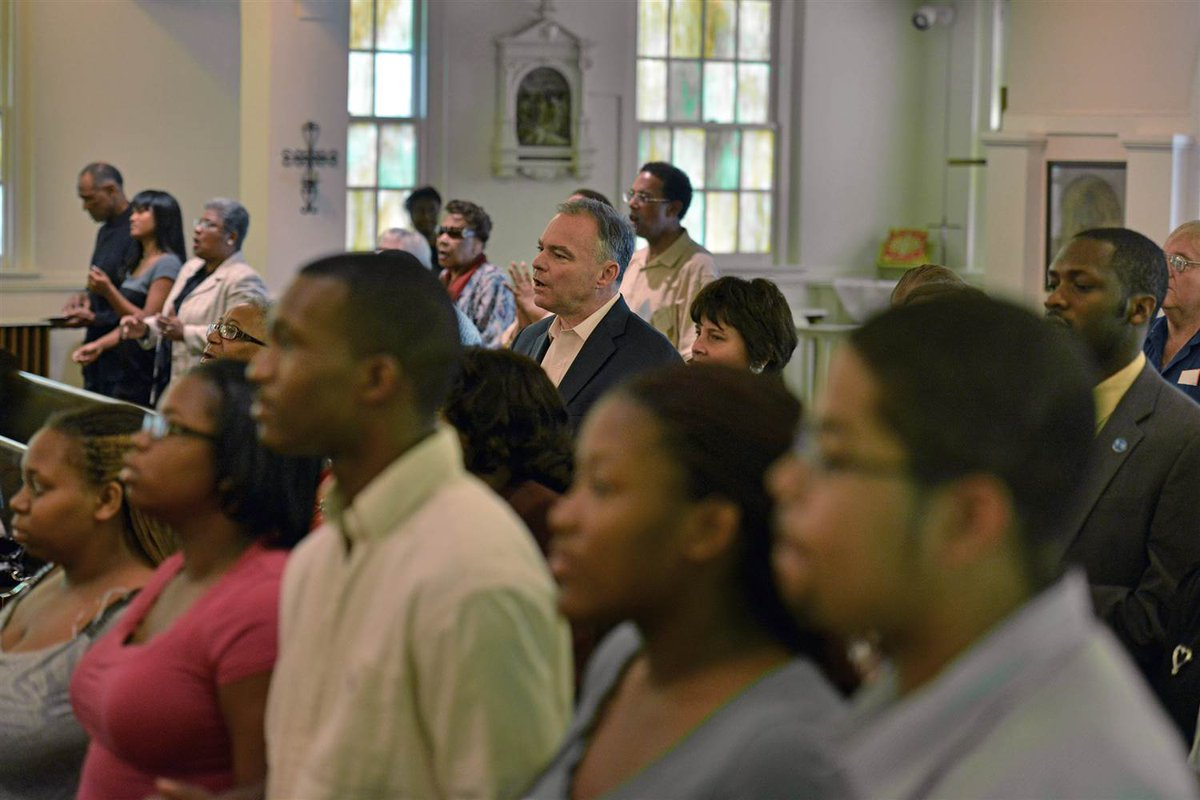 Alone in a sea of minority faces at Mass. This couldn't have been a photo op, could it?