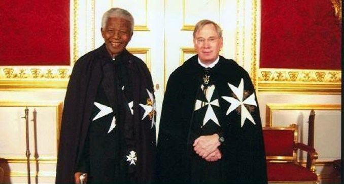 knights of malta mandela and ''prince richard''