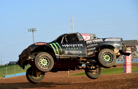 Johnny Greaves takes on Crandon International Raceway.