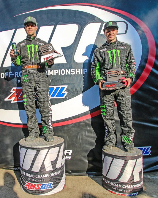 CJ and Johnny go 1 and 2 in Pro4 race on Saturday in Chicago