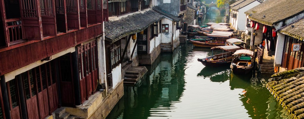 "Zhouzhuang ""Venice of the East"""