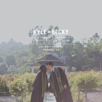 Kyle + Becky // Grad + Couple Session